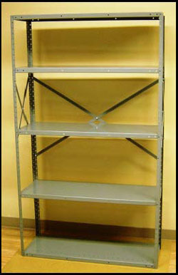 texas warehouse storage shelves