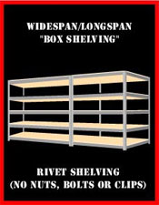 widespan shelving