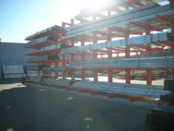 houston steel shelving