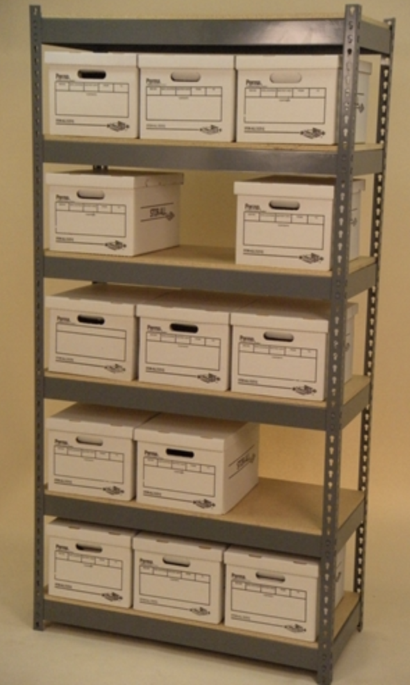 42 x 15 x 84 shelving unit with 6 levels and single-stacked-lg
