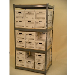 42 x 30 x 84 shelving-unit-4-levels-double-stacked