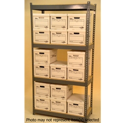 Widespan Shelving - 42 x 12 x  84 - High Strength Steel Shelving