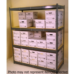Widespan Shelving - 69 x 18 x 84- High Strength Steel Shelves