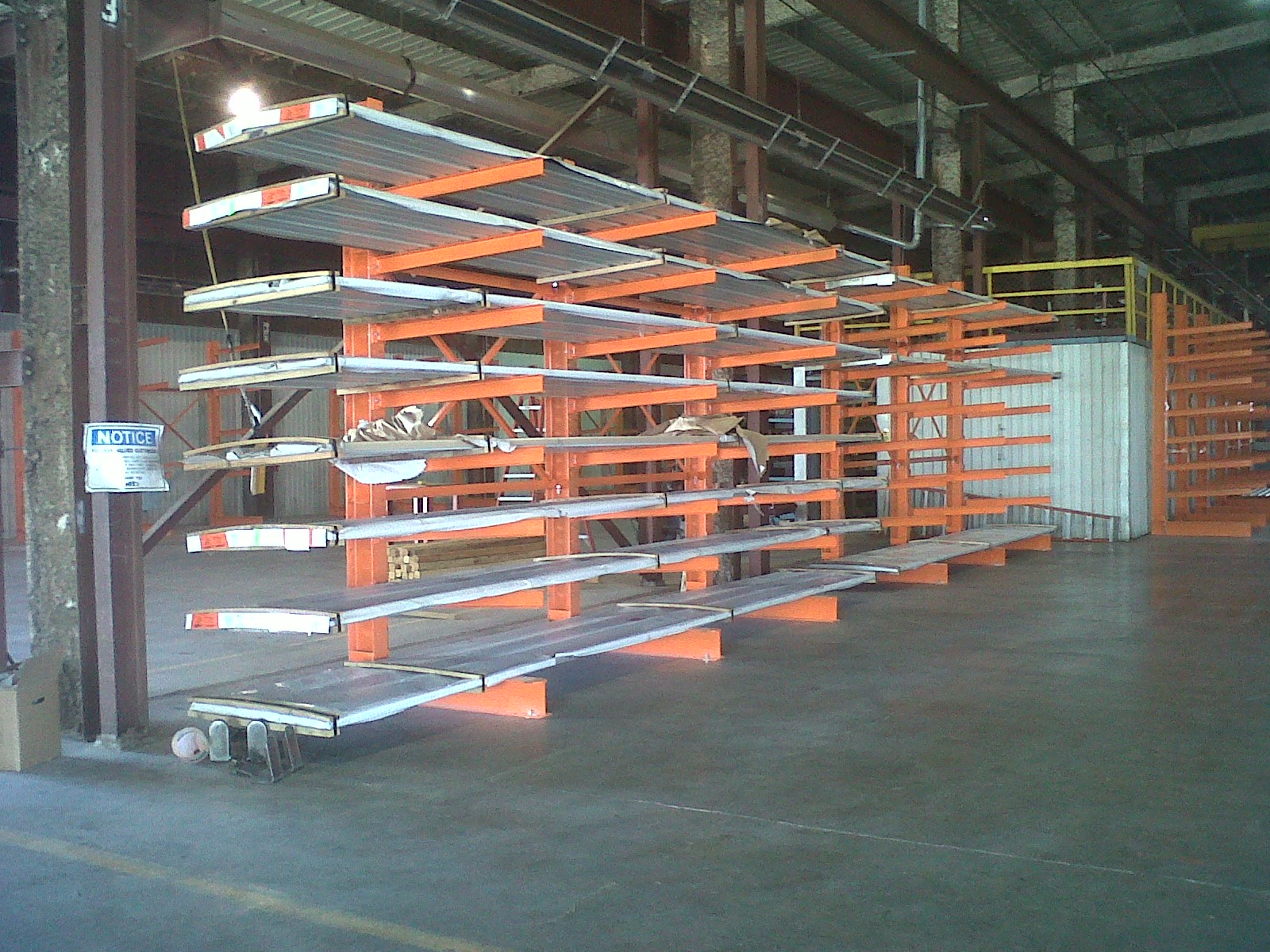 shelving mobile cantilever out density high crank pallet rack warehouse and storage distribution