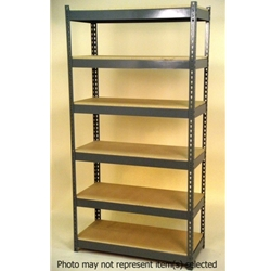 Widespan Shelving - 84 x 22w x 18 x 22d x 84 x 22t - High Strength Steel Shelving