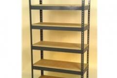 Widespan Shelving - 84 x 22w x 30 x 22d x 84 x 22t - High Strength Steel Shelving